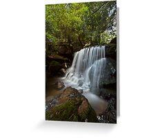 Leura Falls, NSW Greeting Card