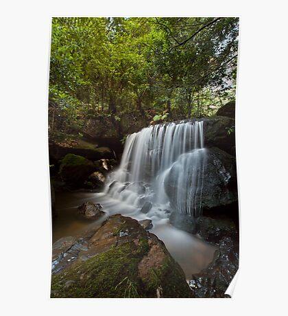 Leura Falls, NSW Poster