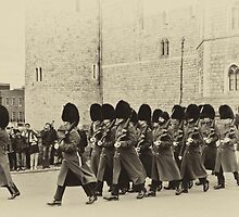 Changing the Guard Windsor Castle by Chris Thaxter