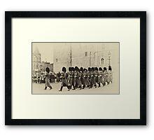 Changing the Guard Windsor Castle Framed Print