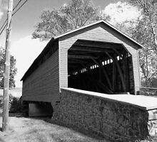 Utica Mills Covered Bridge by James Brotherton
