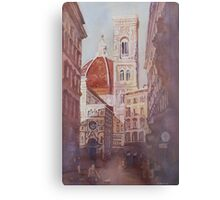 And Suddenly, The Duomo Metal Print