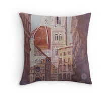 And Suddenly, The Duomo Throw Pillow
