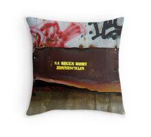Na Regen Komt Zonneschijn Throw Pillow