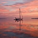 Boat at Sunrise by David Freeman