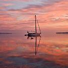 Boat at Sunrise by David Freeman