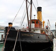 """ Steam Tug Lyttleton "" by terryfellows"
