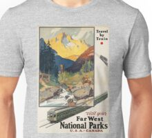 Vintage poster - National parks Unisex T-Shirt