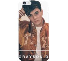 Grayson Dolan iPhone Case/Skin