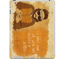 Richie Tenenbaum, by Siri Vinter iPad Case/Skin