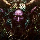 Malfurion Stormrage - The druid by Clengtan