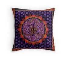 Clusterfunk Throw Pillow
