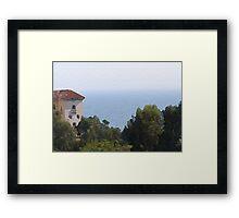 Mediterranean Framed Print
