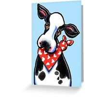Cute Cow Any Occasion Greeting Greeting Card