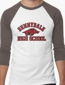Sunnydale High Razorbacks Men's Baseball ¾ T-Shirt