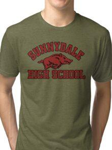 Sunnydale High Razorbacks Tri-blend T-Shirt