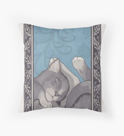Saha Throw Pillow