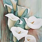 Arum Lilies by FaceAboutArt