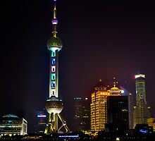 Shanghai Perl tower by FilipMasopust