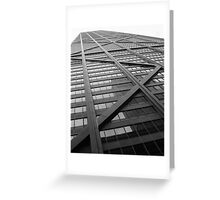 John Hancock Building Greeting Card