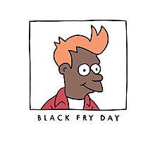 BLACK FRY DAY Photographic Print