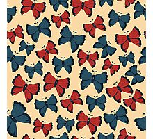 Butterfly pattern Photographic Print