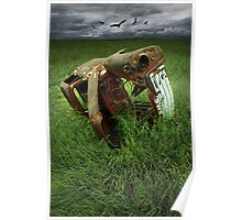 Steel Auto Carcass Poster