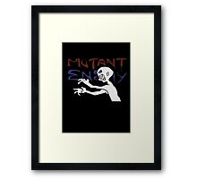 Mutant Enemy  Framed Print