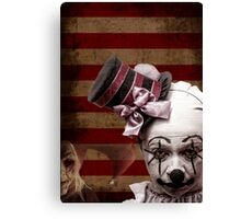 Welcome to the Freakshow Canvas Print