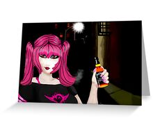 Crazy Amy: Party Hard  Greeting Card