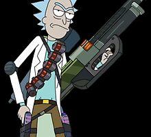 Badass Rick by Moosh Lops