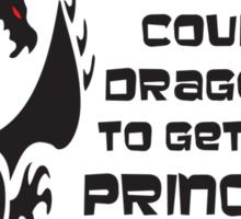 Defending Awesome - Dragon Slayer Sticker
