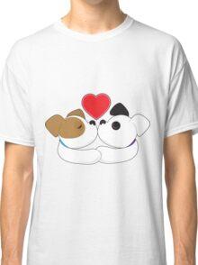 Puppies Kissing Classic T-Shirt