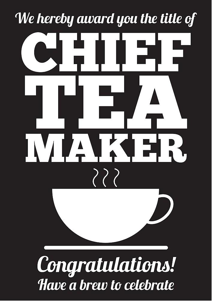 Chief Tea Maker by errozero