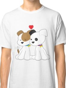 Puppy Couple Classic T-Shirt