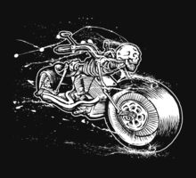Skeleton Rider Kids Tee