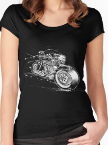 Skeleton Rider Women's Fitted Scoop T-Shirt