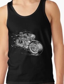 Skeleton Rider Tank Top