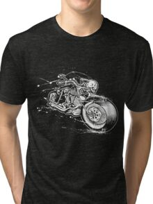 Skeleton Rider Tri-blend T-Shirt