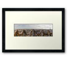 Paris Pano Framed Print
