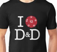 I heart (of darkness) D&D Unisex T-Shirt