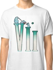 Final Fantasy VII: The Sacrifice Of Cloud - Numbers And Characters Classic T-Shirt