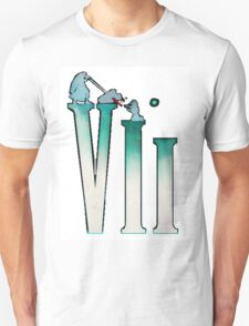 Final Fantasy VII: The Sacrifice Of Cloud - Numbers And Characters T-Shirt