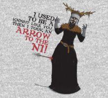 Arrow To The Ni!! One Piece - Long Sleeve