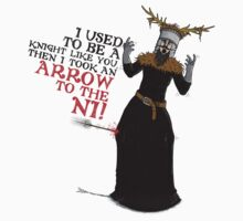 Arrow To The Ni!! Kids Clothes