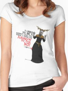 Arrow To The Ni!! Women's Fitted Scoop T-Shirt