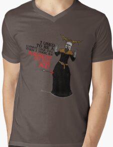 Arrow To The Ni!! Mens V-Neck T-Shirt