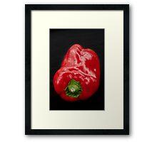 Red Pepper Bringing Sexy Back Framed Print