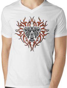 "Women's ""Tiger Lady"" Mens V-Neck T-Shirt"