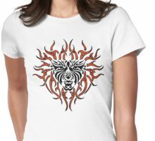 "Women's ""Tiger Lady"" Womens Fitted T-Shirt"
